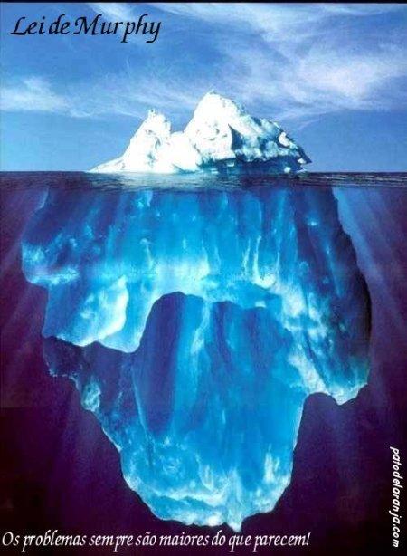 Iceberg, Lei de Murphy